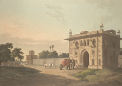 Gate of the Loll-Baug at Fyzabad